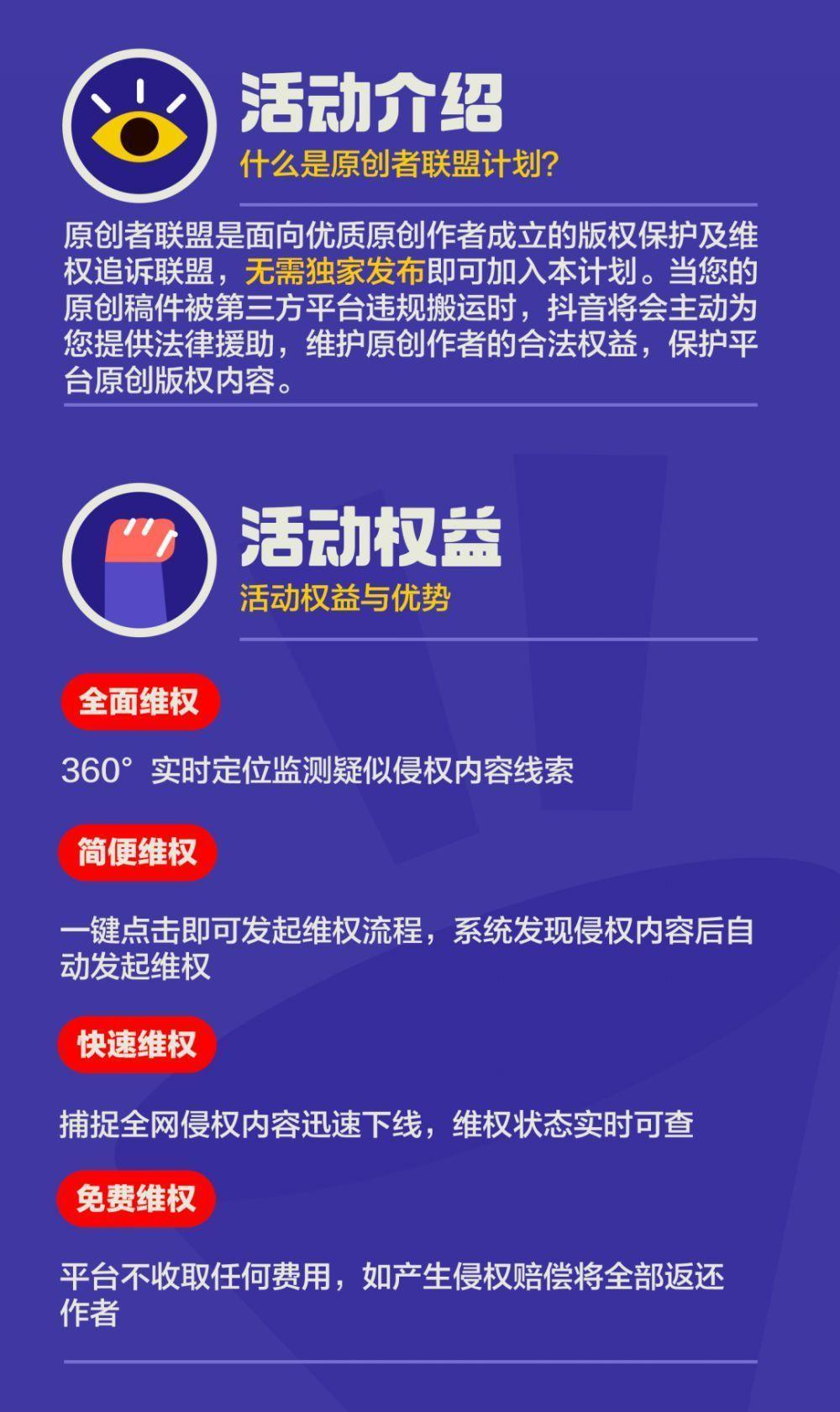 助力<a href='http://www.zhouxiaohui.cn/duanshipin/ '>短视频</a>版权内容保护 抖音原创者联盟计划来了!-第2张图片-周小辉<a href='http://www.zhouxiaohui.cn/duanshipin/ '>短视频</a>培训博客