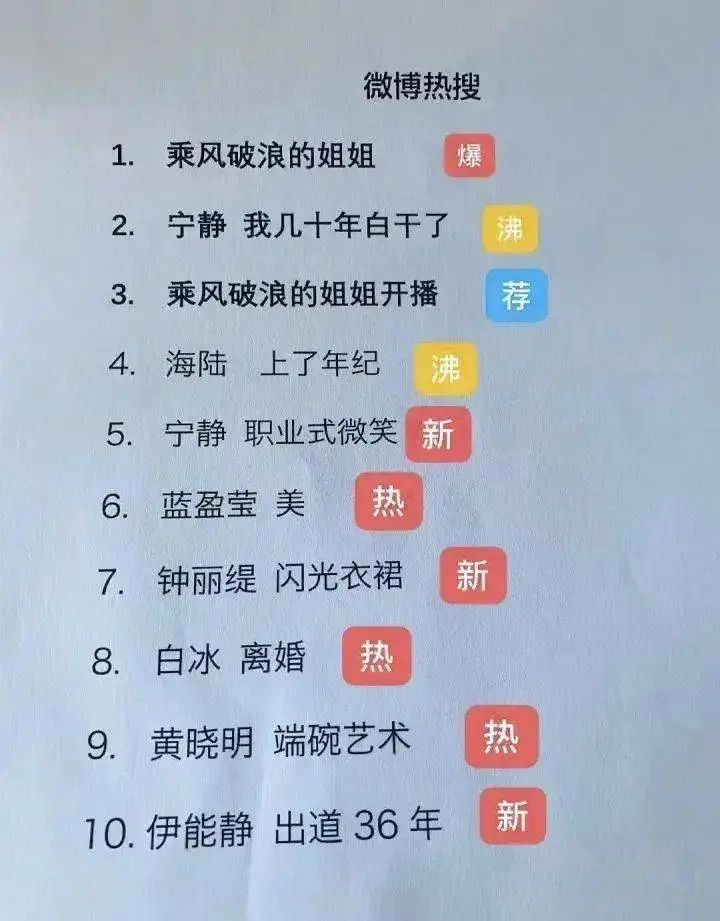 姐姐乘风破浪,妹妹焦虑爆哭,新媒体人写了上百篇10w+……-第4张图片-周小辉<a href='https://www.zhouxiaohui.cn/duanshipin/'>短视频</a>培训博客